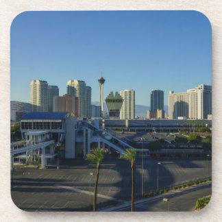 Las Vegas-Streifen voran Untersetzer