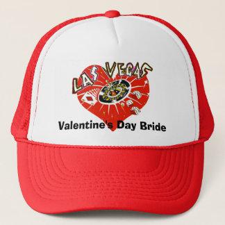 Las Vegas-Valentinsgruß-Braut Truckerkappe