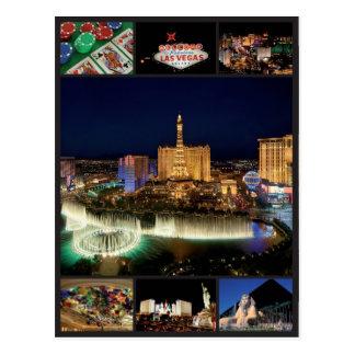 Las Vegas - Vereinigte Staaten Postkarte