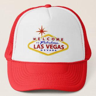 Las Vegas-Willkommensschild Truckerkappe