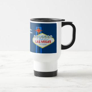 Las Vegas-Zeichen-Andenken Edelstahl Thermotasse