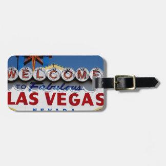 Las Vegas-Zeichen Kofferanhänger
