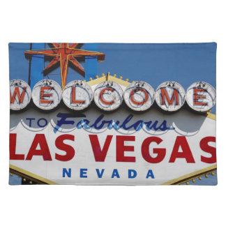 Las Vegas-Zeichen Tischset