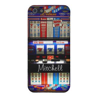 Las- Vegaskasino-Schlitz Machin personalisiert Etui Fürs iPhone 5