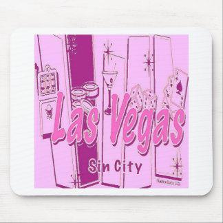 Las- VegasPop-Kunst Retro Mauspads