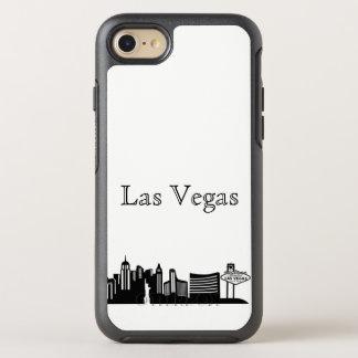 Las Vegasskyline-Silhouette-Kasten OtterBox Symmetry iPhone 8/7 Hülle