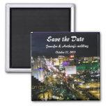 Las- Vegasstreifen-Foto-Hochzeits-Datums-Pläne