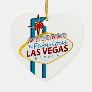 Las- Vegaszeichen-Sehenswürdigkeit Keramik Ornament