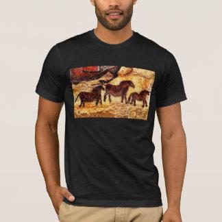Lascaux Felsen-Kunst T-Shirt