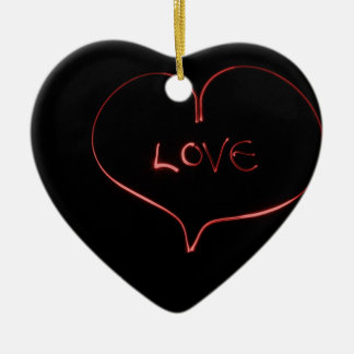 Laser-Liebe Keramik Ornament