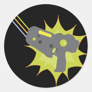 Laser-Umbau-Aufkleber Runder Aufkleber
