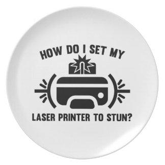 Laserdrucker Teller