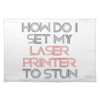 Laserdrucker Tischsets