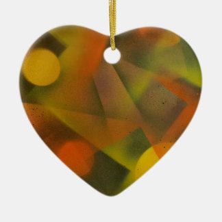 Laserlichtshow Keramik Ornament