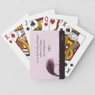 Lass Dich nicht verbiegen Spielkarten