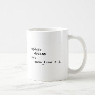 Lassen Sie alle Ihre Träume kommen wahr Tasse