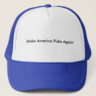 Lassen Sie Amerika den Hut des Fernlastfahrers Truckerkappe