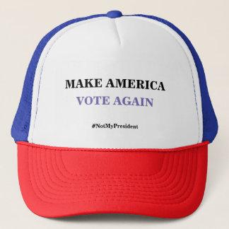 Lassen Sie Amerika Fernlastfahrer-Hut wieder Truckerkappe
