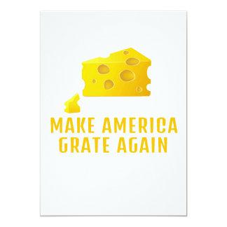 Lassen Sie Amerika - lustigen Anti-Trumpf Käse Karte
