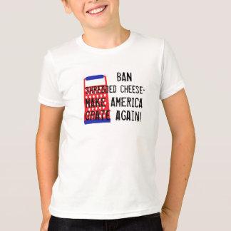Lassen Sie Amerika lustigen Spaß Käse Trumpfes T-Shirt