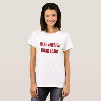 Lassen Sie Amerika wieder denken T-Shirt