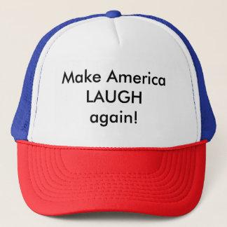 Lassen Sie Amerika wieder LACHEN! Truckerkappe