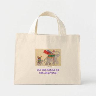 Lassen Sie das Ellies das Einkaufen tun Tasche