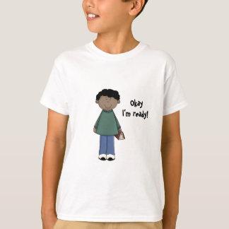 Lassen Sie das Lernen anzufangen! -Jungestudent T-Shirt