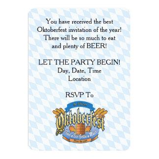 Lassen Sie das Party Oktoberfest Party Einladungen