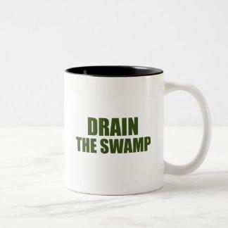 Lassen Sie das Sumpf-Schwarze 11 Unze Zwei-Ton Zweifarbige Tasse