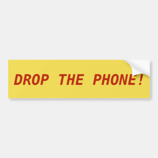 LASSEN SIE DAS TELEFON FALLEN! Aufkleber Autoaufkleber