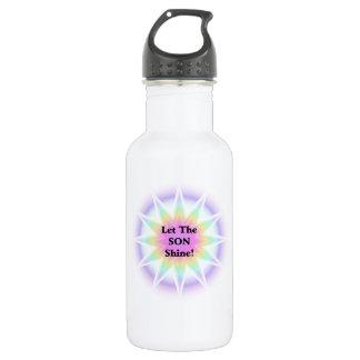 Lassen Sie den Sohn glänzen Trinkflasche
