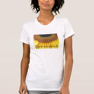 Lassen Sie den Sonnenschein herein T-Shirt