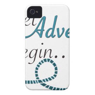 Lassen Sie die Abenteuer anfangen iPhone 4 Hüllen