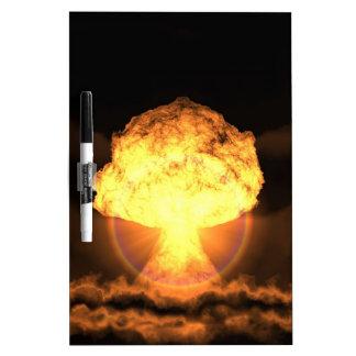 Lassen Sie die Bombe fallen Whiteboard