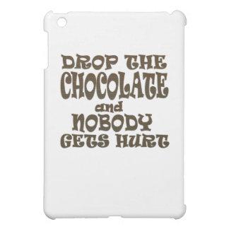 lassen Sie die Schokolade fallen und niemand iPad Mini Hülle