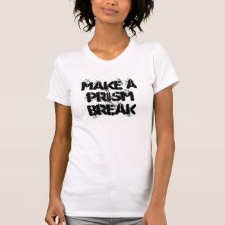 Lassen Sie ein Prisma - Obama NSA-Protest-T - T-Shirt