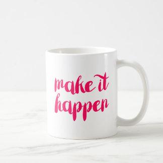 Lassen Sie es geschehen Kaffeetasse