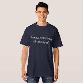Lassen Sie es, mit Unterbrechungen zu drehen T-Shirt