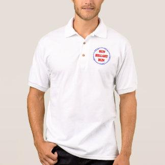 Lassen Sie Hillary-Kreis - Polo-Shirt laufen Polo Shirt