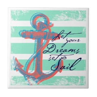 Lassen Sie Ihr Traum-Set-Segel Fliese