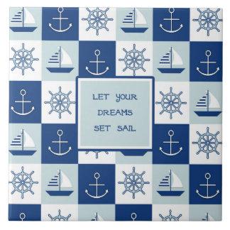 Lassen Sie Ihr Traum-Set-Segel Keramikfliese