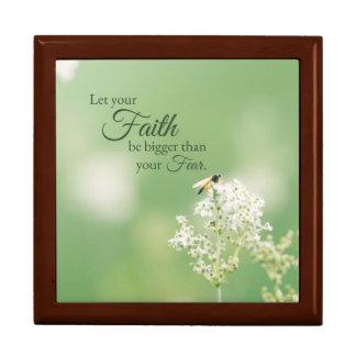 """""""Lassen Sie Ihre Glauben-… """"christliches Geschenkbox"""