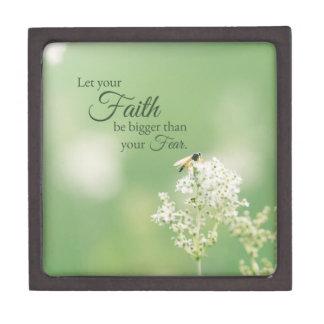 """""""Lassen Sie Ihre Glauben-… """"christliches Schachtel"""