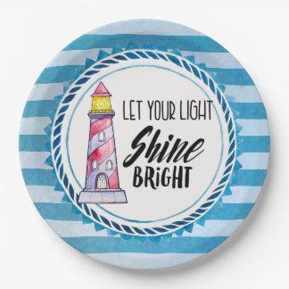 Lassen Sie Ihre heller Shine-helle Pappteller