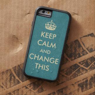 Lassen Sie Ihre Selbst Ruhe behalten Tough Xtreme iPhone 6 Hülle
