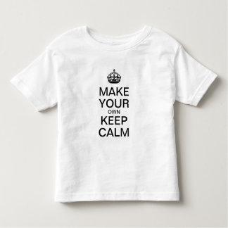 Lassen Sie Ihre Selbst ruhiges KinderShirt Kleinkind T-shirt