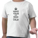 Lassen Sie Ihre Selbst ruhiges KinderShirt (Schabl T Shirt