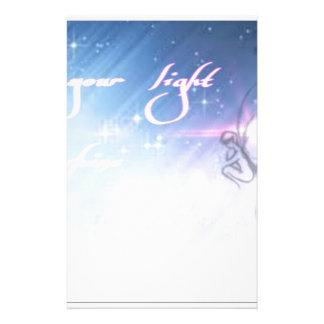 lassen Sie Ihren hellen Shine Briefpapier
