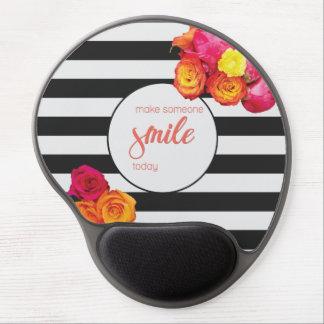 Lassen Sie jemand heute lächeln Gel Mousepad